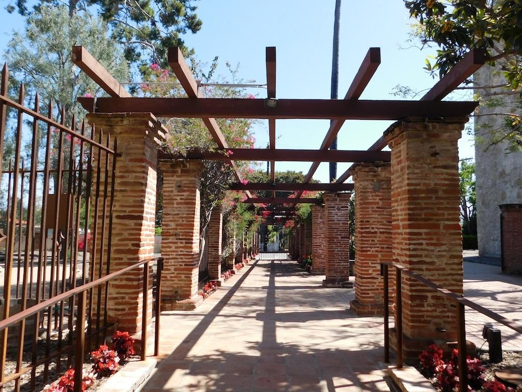 Mission San Juan Capistrano California5 Backyard